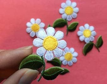 Daisy Iron on patch