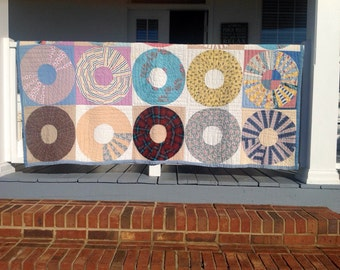 Vintage Farmhouse Hand Made Quilt