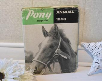 Pony Annual Magazine 1968. Hardback book with dustjacket.