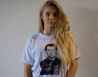 Christian slater shirt mugshot shirt movie shirt