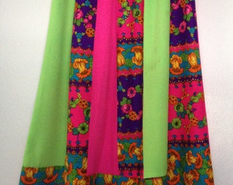 Vintage Greencastle California Bohemian Long Skirt size S
