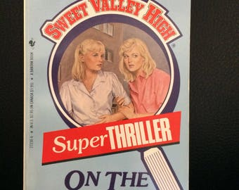 Sweet Valley High Super Thriller On The Run by Francine Pascal