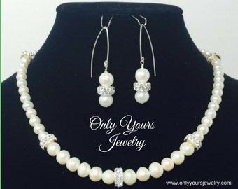 Elegant Sophistication Necklace and Earrings