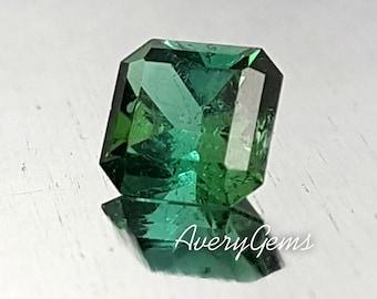 Tourmaline Green 0.75 Ct Natural Loose Gemstone For Engagement Ring Tourmaline Ring Pendant  Precious Gemstone Precision Cut By AveryGems