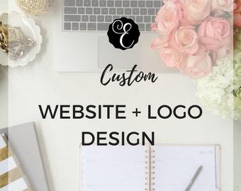 Custom Logo & Website Design Branding