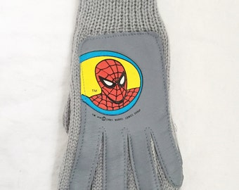 kids spiderman winter gloves boys OSFA