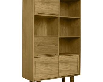 Gloucester Oak Bookcase Natural