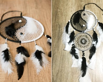 "Dreamcatcher Customizable Zen ""Yin Yang"" **Size and Color**"