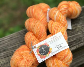 "Sock Yarn - IMC Sock in ""Candy Corn"""