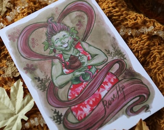 Rose Hip Fairy*POSTCARD