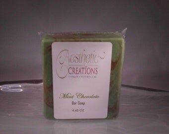 Mint Chocolate Bar Soap