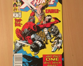 X-Force (1991 1st Series) #15 VF+