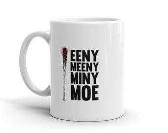 Walking dead Lucille mug