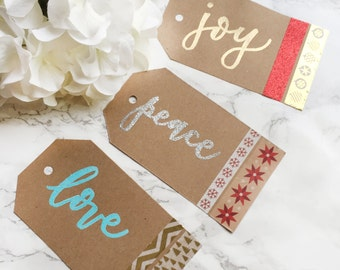Christmas Gift tags (Set of 9)