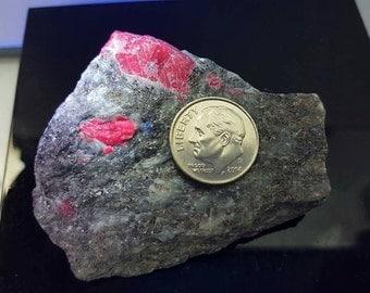 Ruby crystal on matrix