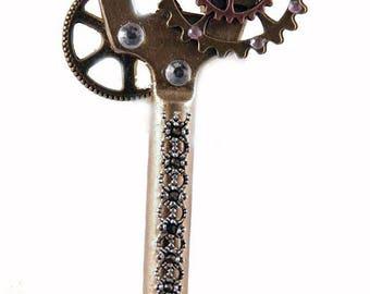 Steampunk key / steampunk Schlüssel Bronze