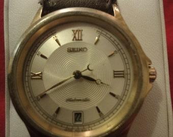 SEIKO (Seiko) antique watch automatic 4S15-8030 gents very rare!