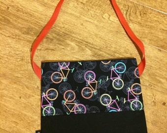 Cycling musette bag fixie fixedgear orange urban cycling gifts