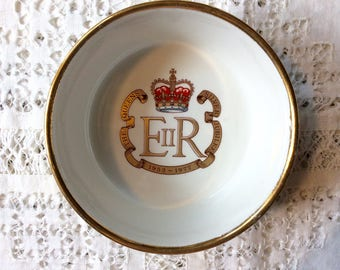 The Queens Silver Jubilee dish