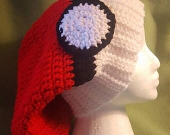 Pokemon Adult Crochet Slouchy Hat