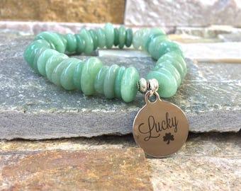 Lucky lucky lucky bracelet jade harmony