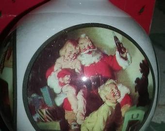 Wonderful Hallmark Keepsake Ornament ~ Coca - Cola Santa