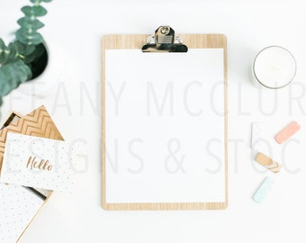 Styled Clipboard Desktop | Styled Stock Photography
