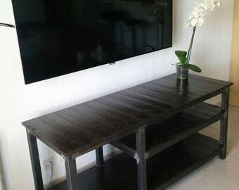Tv furniture, furniture wood metal, furniture living room, lounge, House, furniture, rack, wood, metal, furniture tv industrial, industrial furniture