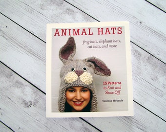 Animal Hats Frog Hats, Elephant Hats, Cat Hats, and more By Vanessa Mooncie