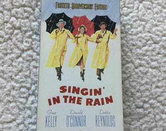Singin' in the Rain VHS Anniversary edition