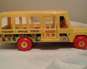 1965 FISHER PRICE School Bus