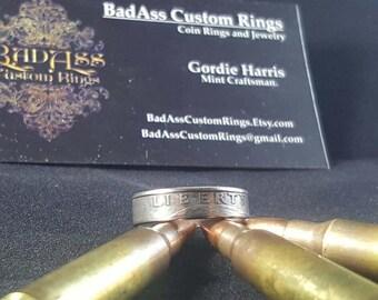 US Quarter Ring - Clad
