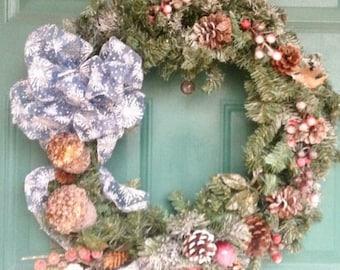 Ribbon Christmas Wreath