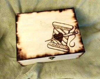 Personalised craft storage box