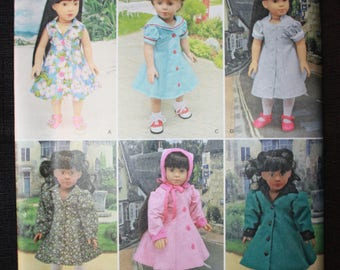Simplicity 8071  18in Fashion Doll Clothes