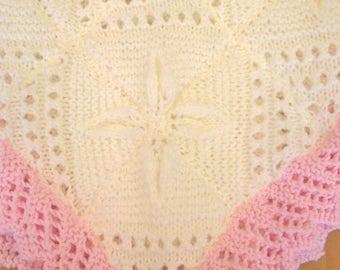 Knitted Pram Blanket