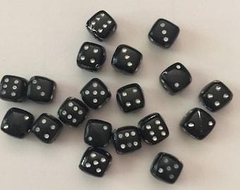 Black Dice Beads