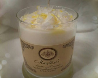 Coconut Cake Candle
