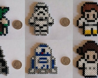 Star Wars Perler Beads (Old Movies)