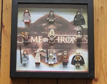 Game of Thrones Lego Mini Figure Frame