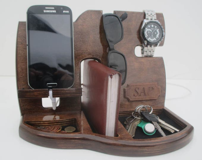 Docking Station,Gift for men,Fathers Day Gift,Birthday Gifts For Men,Gifts For Husband,groomsmen gift,gift for Him