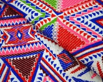 Beautiful Jacquard Fabric by the Yard, Upholstery Cotton Fabric