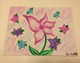 Spring Flowers- painting