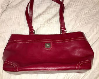 Vintage Etienne Aigner handbag! (Oxblood color)