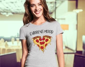 pizza shirt / pizza t shirt / junk food tees / funny shirts / pizza / piece of pizza / food tshirt / i love pizza / pizza couple shirt