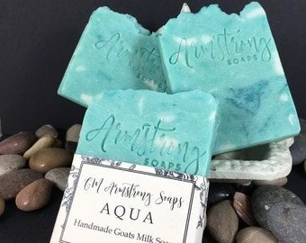 """AQUA - Gucci's """"Made to Measure"""" Type Fragrance- 100% Handmade all natural artisan Soap"""