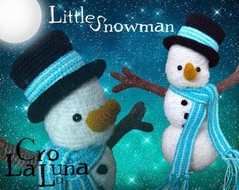 Little Snowman (PDF Crochet Pattern)