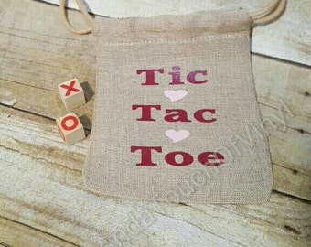 Tic Tac Toe in a Bag