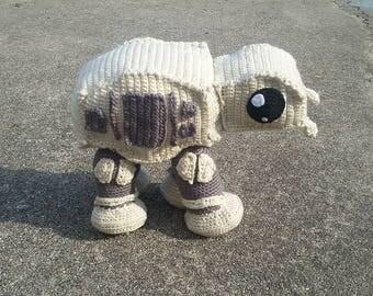 Large Plush Walker Robot -- Stuffed Toy