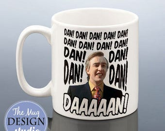 ALAN PARTRIDGE Dan Daaaan Mug Birthday Gift for Steve Coogan Fathers Day Present Idea Dad Friend Gift for Men I'm Alan Partridge Coffee Mug